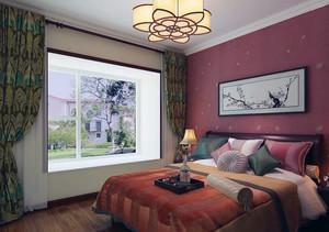 别墅卧室飘窗装修效果图