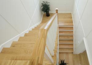 美式简约风格楼梯装修效果图大全