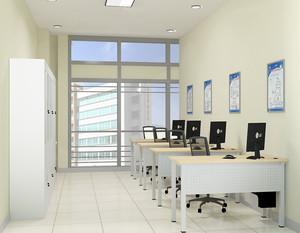 简单办公室装修效果图例