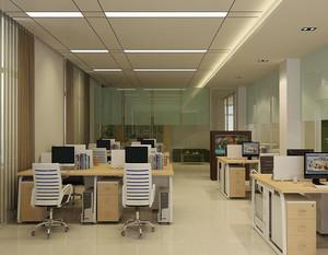 商业简单办公室装修效果图
