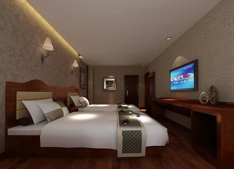 宾馆客房装修效果图实景图
