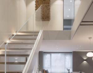 北欧轻奢loft楼梯装修效果图赏析