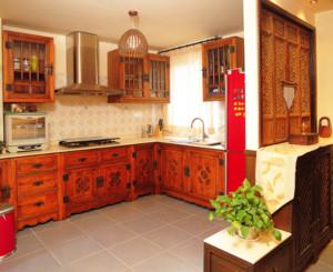 120平米东南亚风格厨房装修效果图