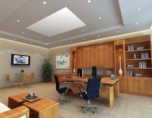 50平米办公室装修效果图