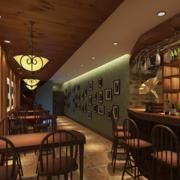 欧式酒吧装修效果图赏析