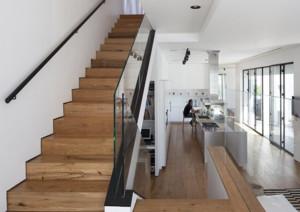 现代简约风格别墅楼梯装修效果图大全