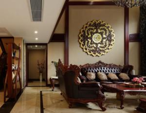 100平米东南亚风格客厅装修效果图赏析