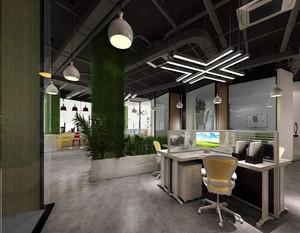 设计公司办公室装修设计效果图