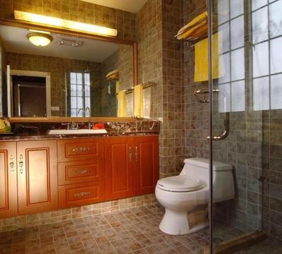 卫生间仿古砖装修效果图赏析