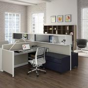 4人办公室装修效果图