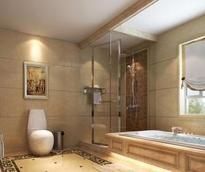 别墅卫生间装修效果图赏析