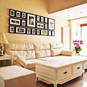 现代简约照片墙装修效果图赏析