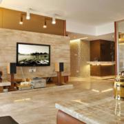 100平米东南亚风格客厅装修设计效果图赏析