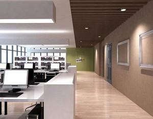 设计公司办公室装修效果图例