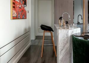 现代风格精装房吧台装修效果图赏析