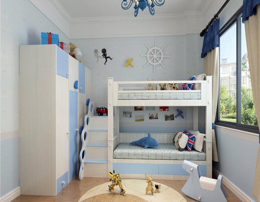 10平方儿童房设计效果图
