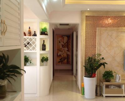 美式风格入户玄关装修设计图