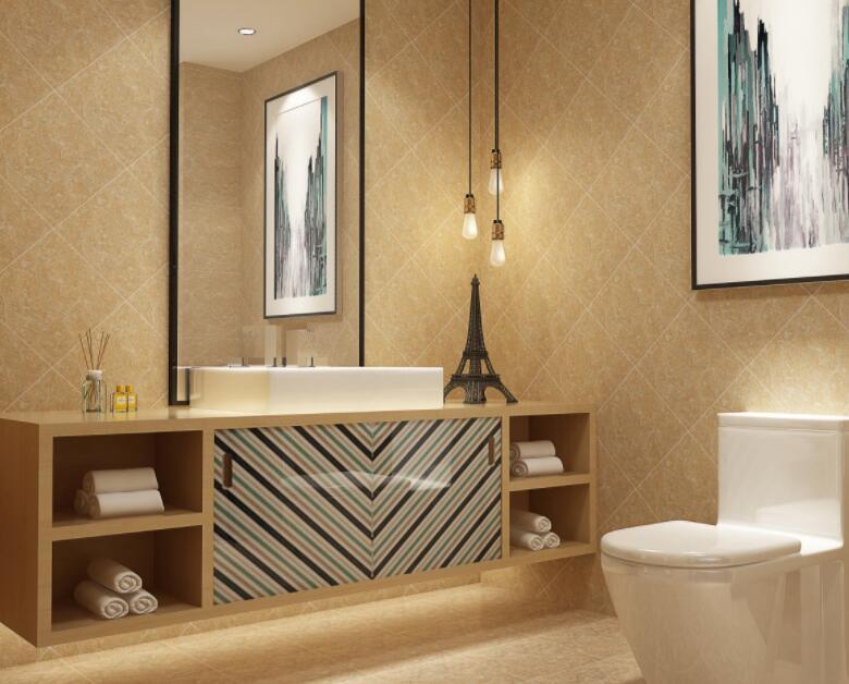卫生间瓷砖铺贴图片赏析