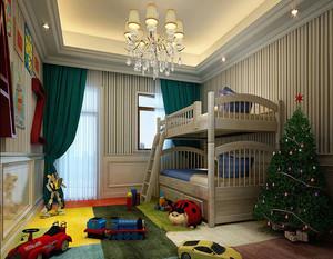欧式风格儿童房吊灯效果图