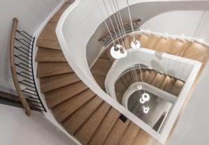 北欧别墅楼梯装修效果图大全