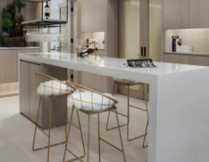 现代简约风格家庭吧台装修效果图大全