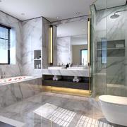 新中式别墅卫生间装修案例赏析