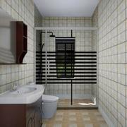 简约风卫生间瓷砖装修效果图