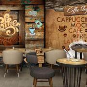 美式风格咖啡厅装修设计效果图