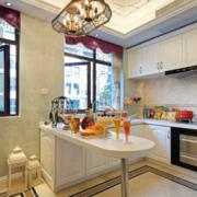 现代欧式风格厨房装修设计效果图