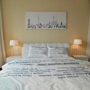 北欧风床头背景墙装修效果图