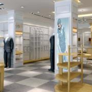 60平米现代风格服装店设计效果图