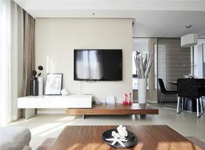 现代客厅背景墙装修效果图