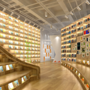 现代风格主题书店设计图赏析