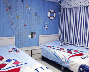 地中海风格儿童房装修设计图