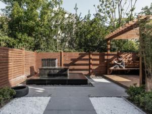 混搭风格别墅花园装修效果图赏析