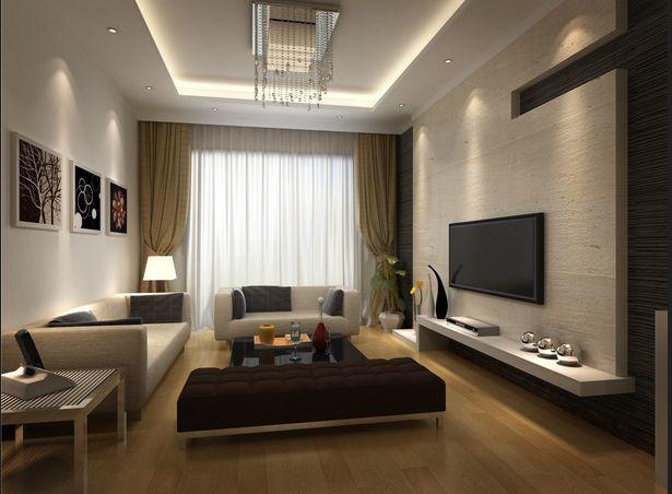 家居客厅电视背景墙装修效果图