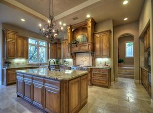 厨房简约装饰设计效果图