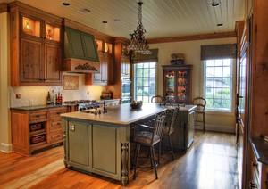 厨房简欧装修设计图