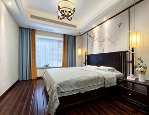 卧室壁布装修效果图