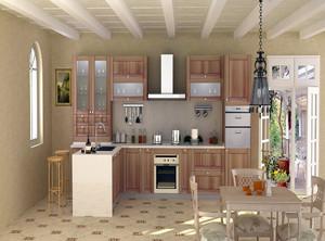 北欧厨房装修效果图