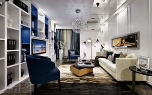 现代客厅电视柜装修效果图大全
