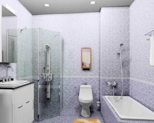 卫生间马赛瓷砖装修效果图