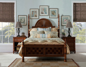 美式主卧室墙面装修效果图