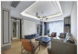 现代客厅吊顶装修效果图大全