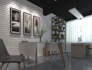 现代简约风格办公室装修设计效果图赏析