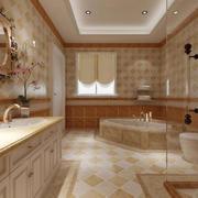 别墅卫生间装修案例