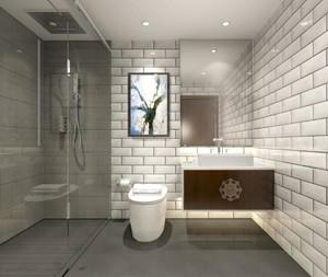 现代中式风格卫生间图片