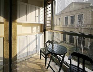 阳台储物柜设计效果图