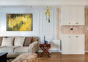 美式风格三居室鞋柜装修效果图