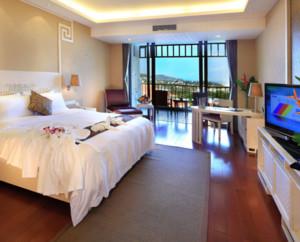 30平米简约风格宾馆客房装修设计效果图